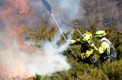 Estos son los medios del Ministerio para la lucha contra los incendios