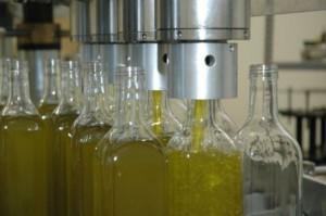 aceite en una planta envasadora