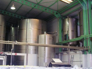 aceite almacenado en cooperativa nuestra señora del Pilar de Villacarrillo