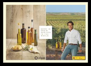 campaña promoción aceite oliva Rafa Nadal