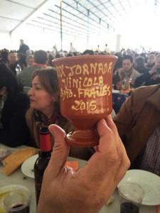copa obsequio Fiesta del Vino 2015