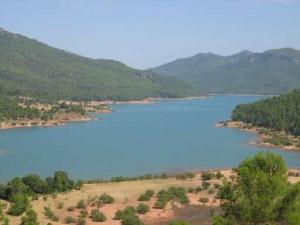 embalse del tranco en la provincia de Jaén