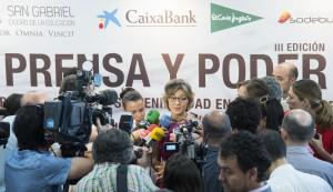 la ministra garcía tejerina, en declaraciones a los medios