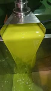 aceite recién extraído