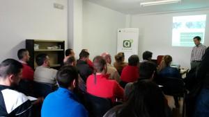 Conferencia Sebastián Gasco en Campillo de Arenas